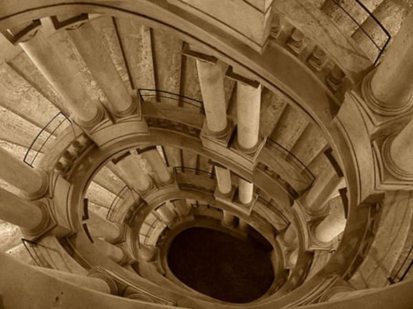 Il mistero della scala a chiocciola di palazzo barberini for Scala a chiocciola della cabina
